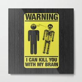 Killing With Mind Metal Print