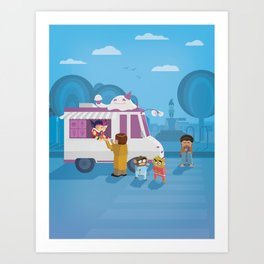 The Nick Yorkers in August Art Print