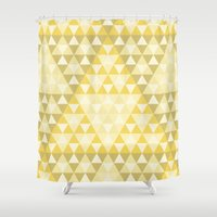triforce Shower Curtains featuring Triforce by Gavin Guidry