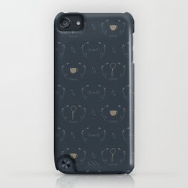 subtle trust pattern II iPhone Case