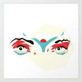 Icarus Befallen Art Print