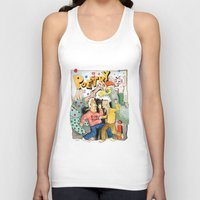 poetry Tank Tops featuring Poetry Party by Bruce Zeines