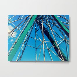 Ferris Wheel II Metal Print
