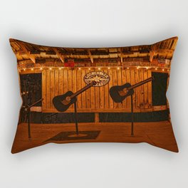 The Luckenbach Stage Rectangular Pillow
