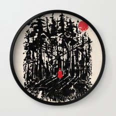 Long Way Home Wall Clock