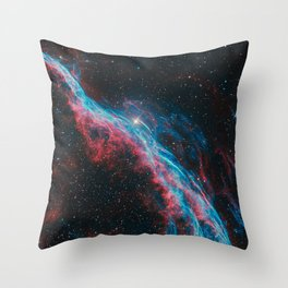 Veil Nebula Throw Pillow
