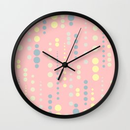 Colordrops Wall Clock