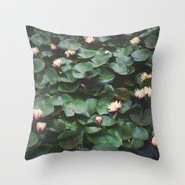 Echo Park Waterlillies Throw Pillow