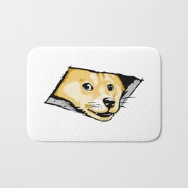 Ceiling Doge Bath Mat