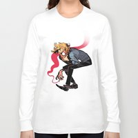 musa Long Sleeve T-shirts featuring you wish you felt better by musa