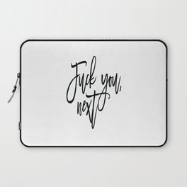 Fuck You,Next.. Ariana Poster, 7 Rings,Teen Room Poster, Teen Room Decor Laptop Sleeve
