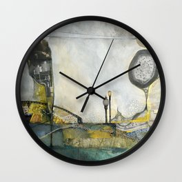 Brother's Keeper Wall Clock