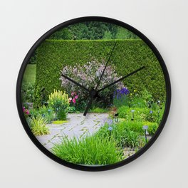 Someone in the Garden Wall Clock