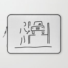 vehicle mechanic car Laptop Sleeve
