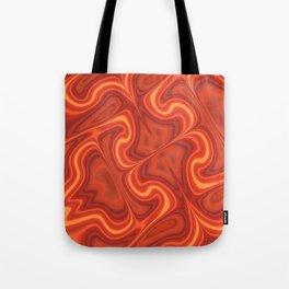 Fiery Fire Tote Bag