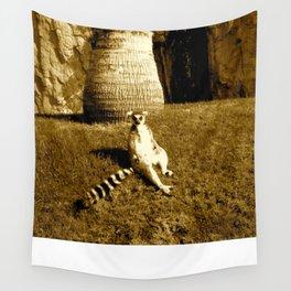 Lazy Lemur Wall Tapestry
