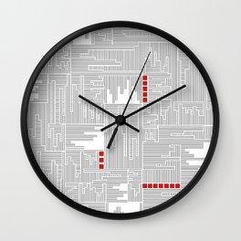 City Lines - Lignes urbaines Wall Clock