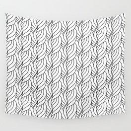 Modern Plait Pattern Wall Tapestry