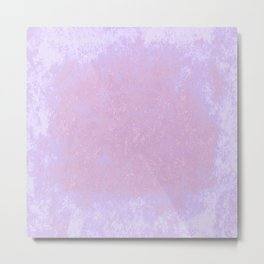 Abstract texture in pinks Metal Print