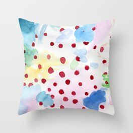 The origin of Spring 2 Throw Pillow