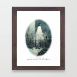 Behind You 21 Framed Art Print