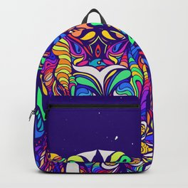 Not a circus elephant #violet by #Bizzartino Backpack