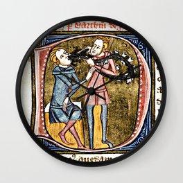 Medieval Dentistry Wall Clock