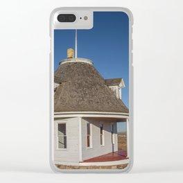Hurd Round House, Wells County, North Dakota 15 Clear iPhone Case