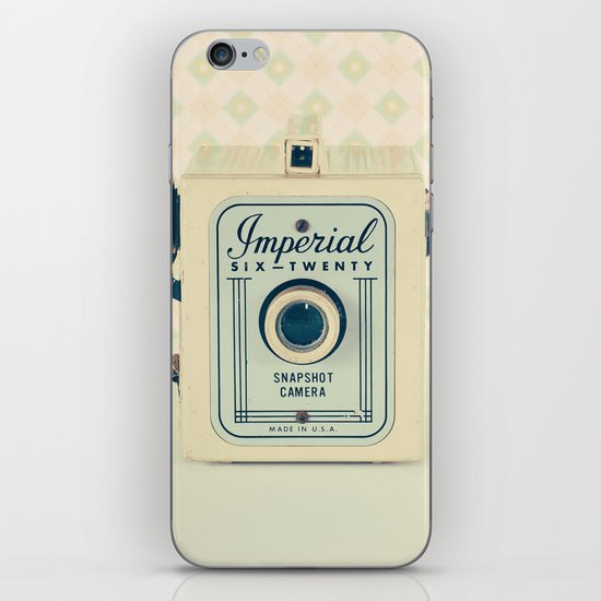 Art Deco Retro Camera  iPhone & iPod Skin