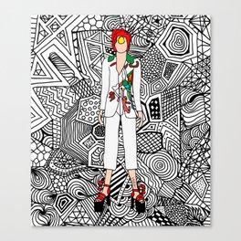 Heroes Fashion 7 Canvas Print