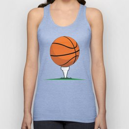 Basketball Tee Unisex Tank Top