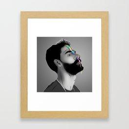 DAME Framed Art Print