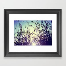 The most important thing in life aren't things Framed Art Print