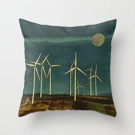 Eco Morning Throw Pillow