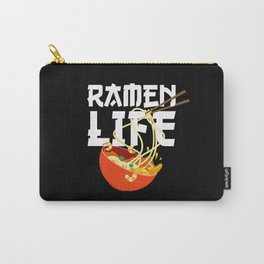 Ramen Life Fun Ramen Noodle Bowl Anime Lovers Carry-All Pouch
