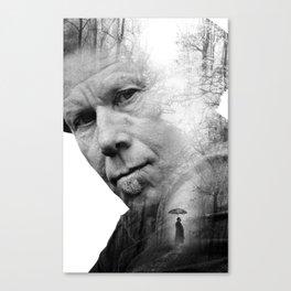Tom Waits Poster Canvas Print