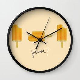 """""""Yum 2"""" Wall Clock"""