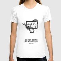 sherlock holmes T-shirts featuring Sherlock Holmes by the curious brain