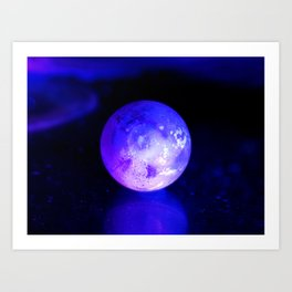 Space body Art Print