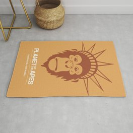 Planet of the Apes - Alternative Movie Poster Rug
