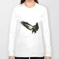 eagle Long Sleeve T-shirts featuring Eagle by Yaroslav Greben