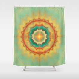 Happyness - Mandala Shower Curtain
