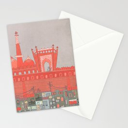 Purani Dilli, Old Delhi - A Postcard from India Stationery Cards