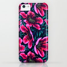 Manuka Floral Print iPhone 5c Slim Case