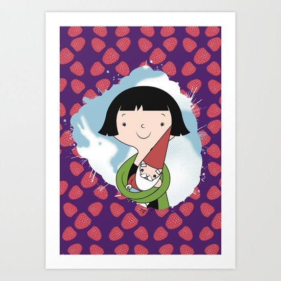 Help People not Gnomes Art Print