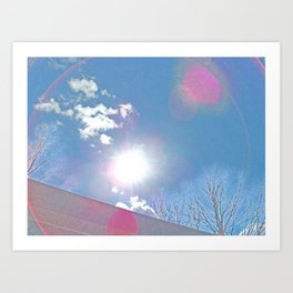 The Sun Bow Art Print