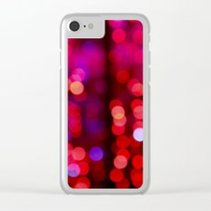 lights shine Clear iPhone Case