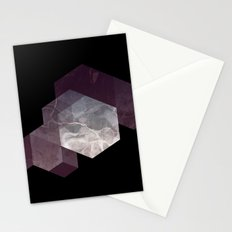 Marble Geometry Stationery Cards