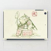 warrior iPad Cases featuring Warrior by pigboom el crapo