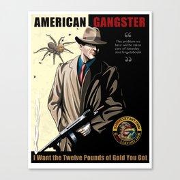 American Gangster Chael Sonnen Canvas Print